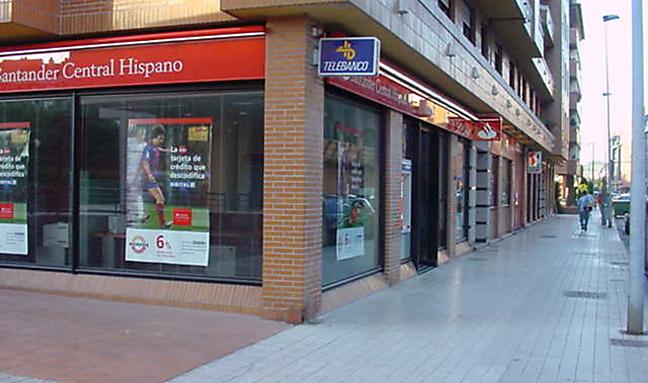 Banco santander tidea for Mapa santander sucursales